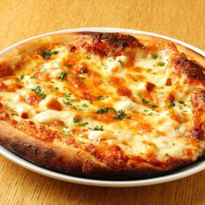 魚介スペシャルピザ